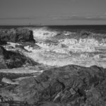 Waves At Bass Rocks © Photography by David Piemonte